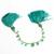 Charming Beautiful Natural Emerald Precious Hand Polished Plain Drop Gem Stone