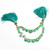 Stunning Natural Emerald Precious Faceted Heart Shaped Gem Stone Beads 3-8 MM