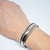 Mens Women's Cuff Bracelet Adjustable Unisex Cuff Bracelet Mens German Silver