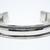 Mens Women's Cuff Bracelet Adjustable Unisex Cuff Bracelet Mens German Silver
