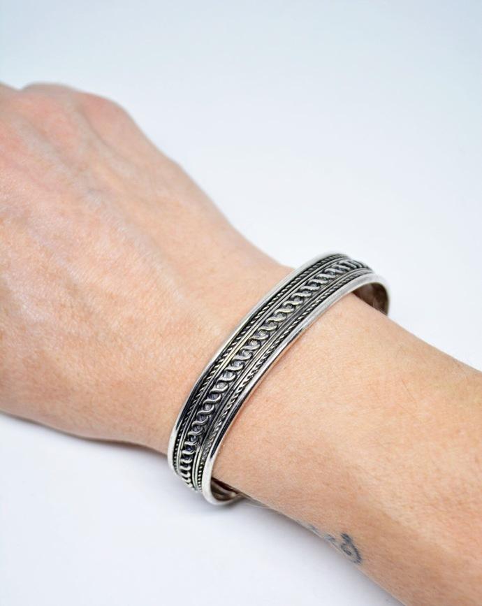 Mens Cuff Bracelet Infinity Celtic Motif - Adjustable Unisex Cuff Bracelet
