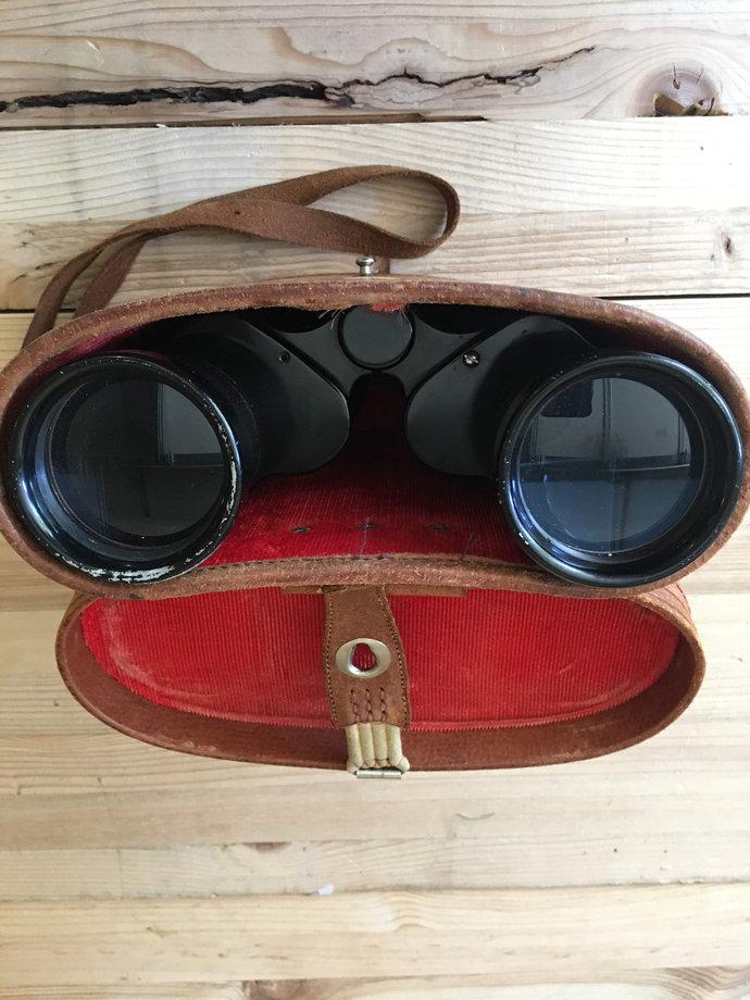 Vintage Ofuna Binoculars 7x50 with Original Case-Made in Japan