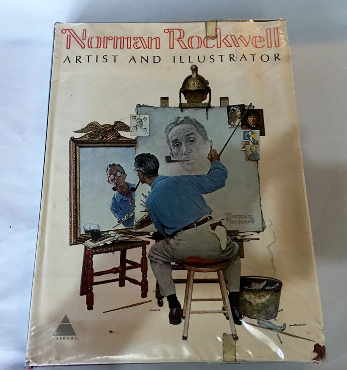 Norman Rockwell Artist & Illustrator Thomas Buechner 1970 1st Edition