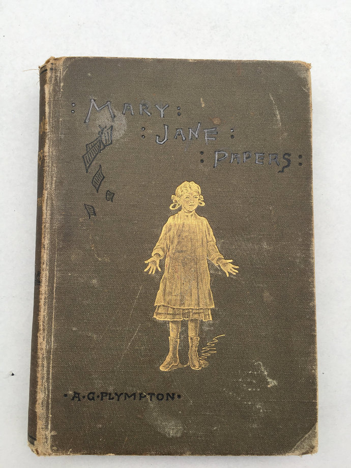 Mary Jane Papers, A.G. Plympton 1884