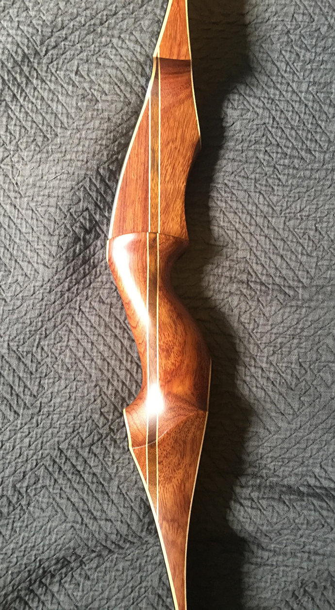 Gorgeous Mamba Wood Recurve Bow