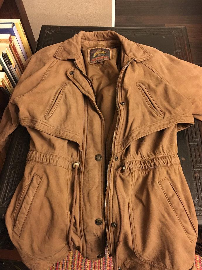 Vintage Wilson's Adventure Bound Vintage Leather Jacket