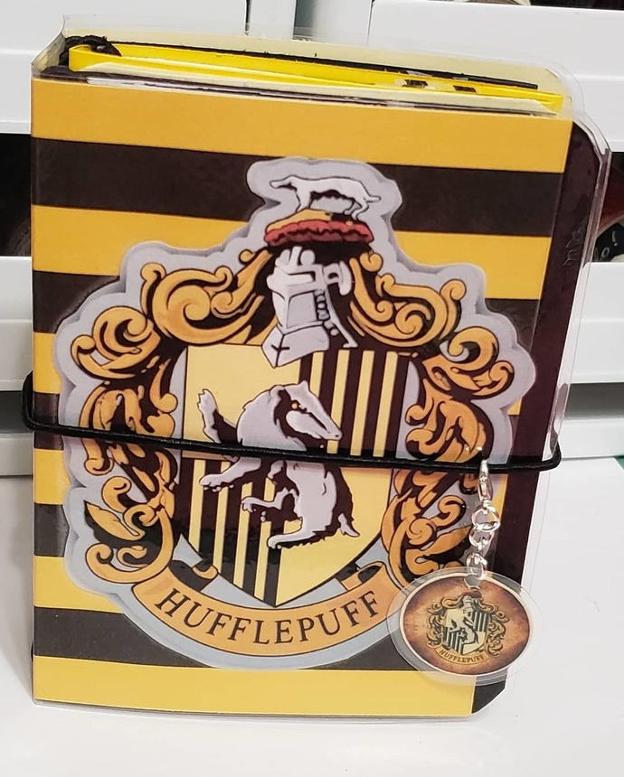 Harry Potter hufflepuff micro travelers notebook