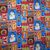Yardage Cotton Quilt Fabric Snowman Christmas Jolly Holiday Jennifer Heynen