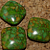 Composite Agate Square Beads 10-1126
