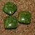 Composite Agate Square Beads 10-1126