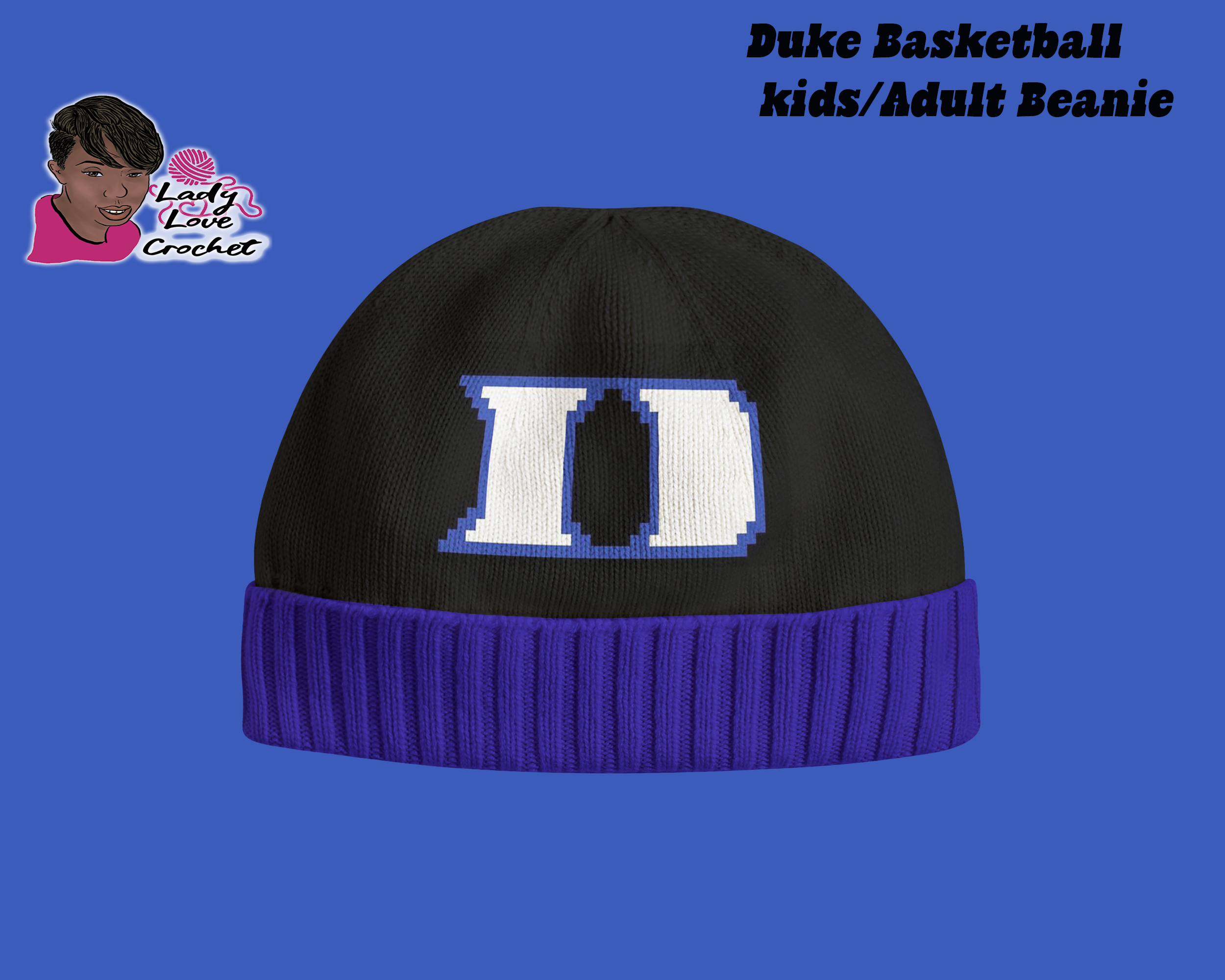 Duke Hat Pattern by LadyLoveCrochet on Zibbet a3b5e02fe13