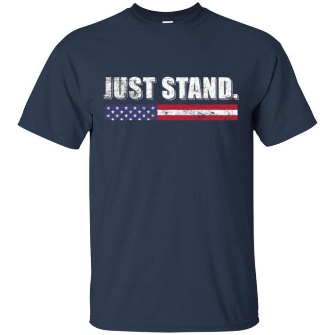 Vintage Just Stand T Shirt Hoodie Langarm Men T-shirt
