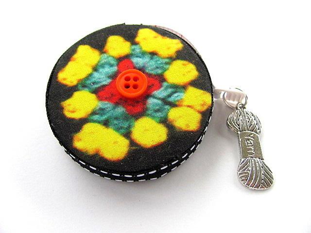 Measuring Tape Crochet Granny Squares Retractable Tape Measure