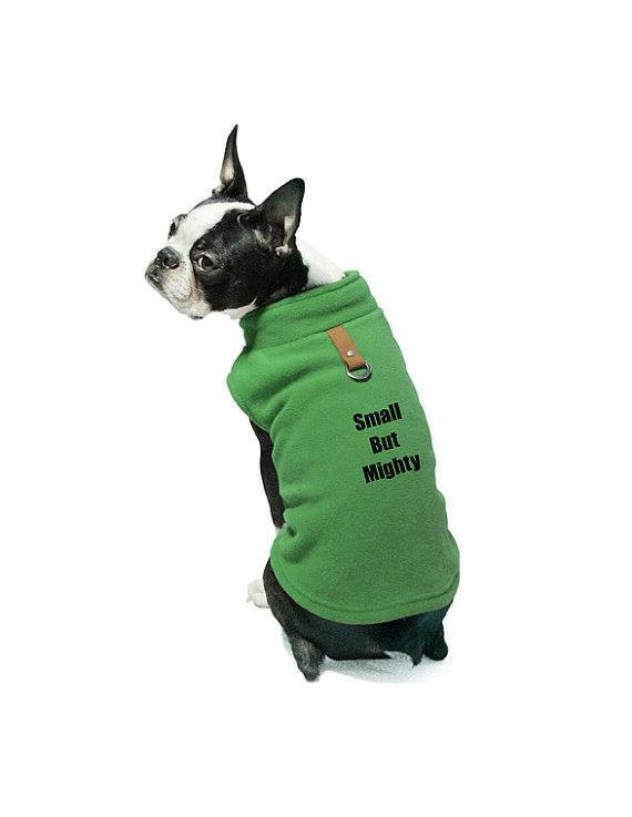 Custom Personalize Design Your Own Fleece Cold Weather Dog Vest (pet Clothing)