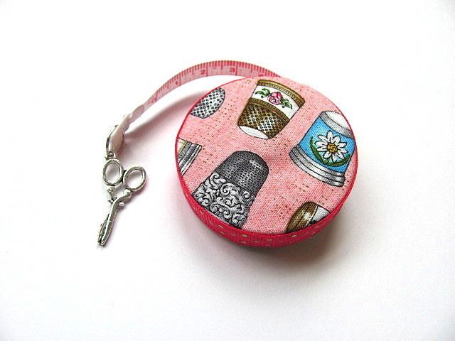 Measuring Tape Just Thimbles Retractable Pocket Tape Measure