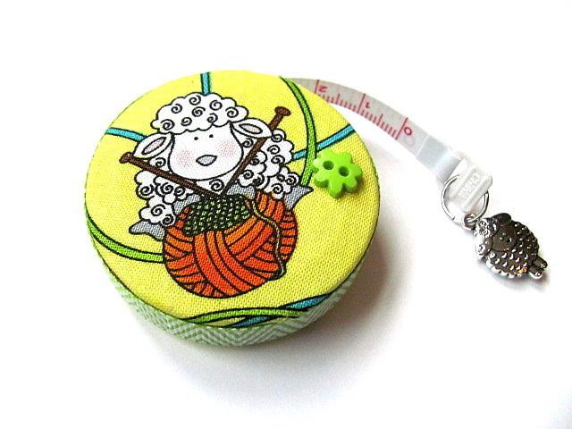Tape Measure Sweet Sheep Knitting Retractable Measuring Tape