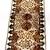 Vera Neumann Black Brown Gold And White Floral Rectangular Ladybug Scarf