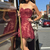 Sexy Lace Burgundy Prom Dresses, Short Homecoming Dress, Sexy Party Dress