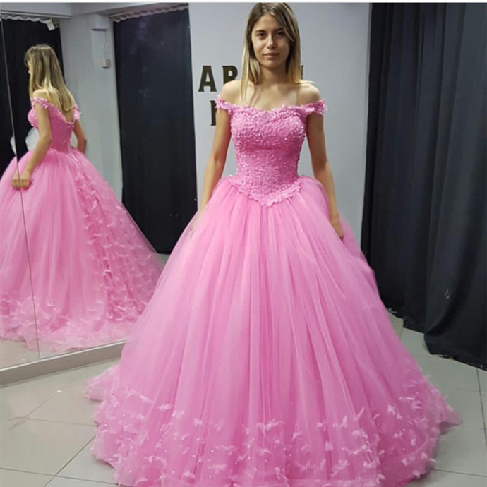Pink Quinceanera Dresses,Ball Gowns Quinceanera Dresses,Sweet 16 Dresses,Pink