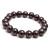 Beautiful !! Natural Garnet Plain Round Gemstone Beads Stretchable Handmade