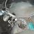 Beach Bracelet bangle boho bohemian hippie gypsy ocean new age handmade jewelry