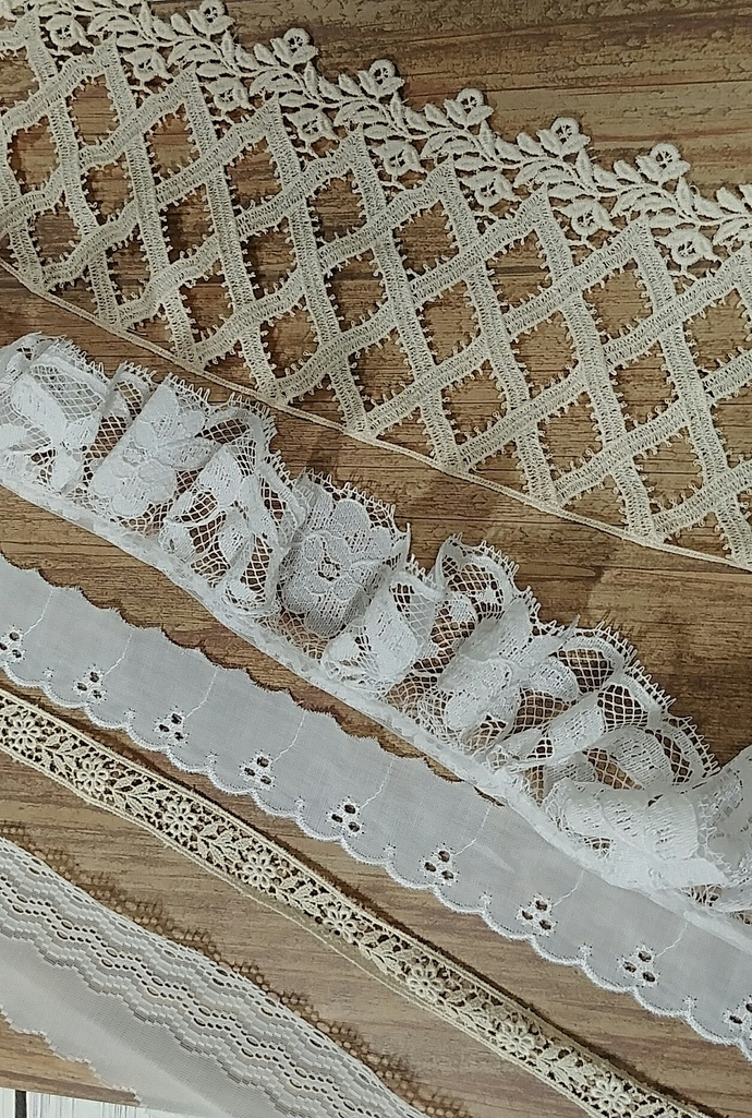CUSTOM ORDER FOR SHIRLEY Precious Bits Lace Kit