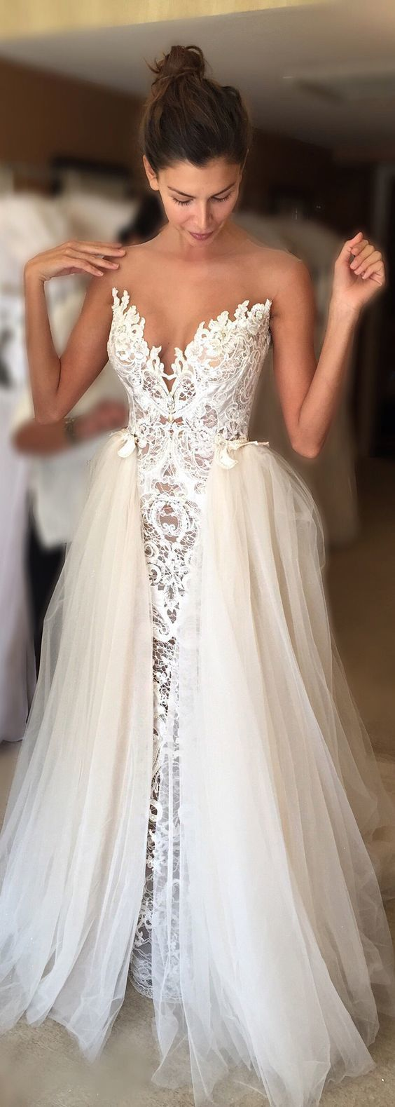 Cheap prom dresses 2017,Elegant Wedding Dress Bride by lass on Zibbet