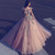 Saudi Arabian Long Evening Dresses Ball Gown Off the Shoulder Deep V Neck 3D