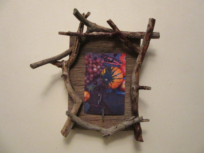Unique Handcrafted Wooden Picture Frame