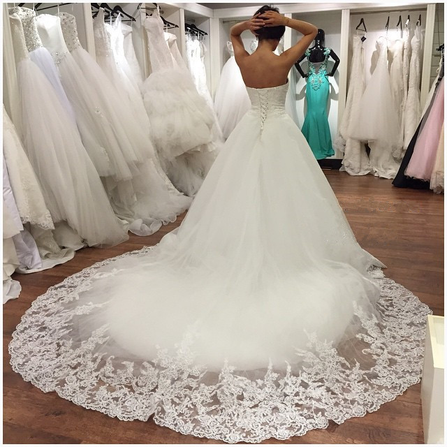 lace sweetheart wedding dress ball gowns 2018 real sample custom made,ball gown