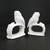 Vintage Ardalt White Owl Napkin Rings Porcelain Set of 2 Made in Japan