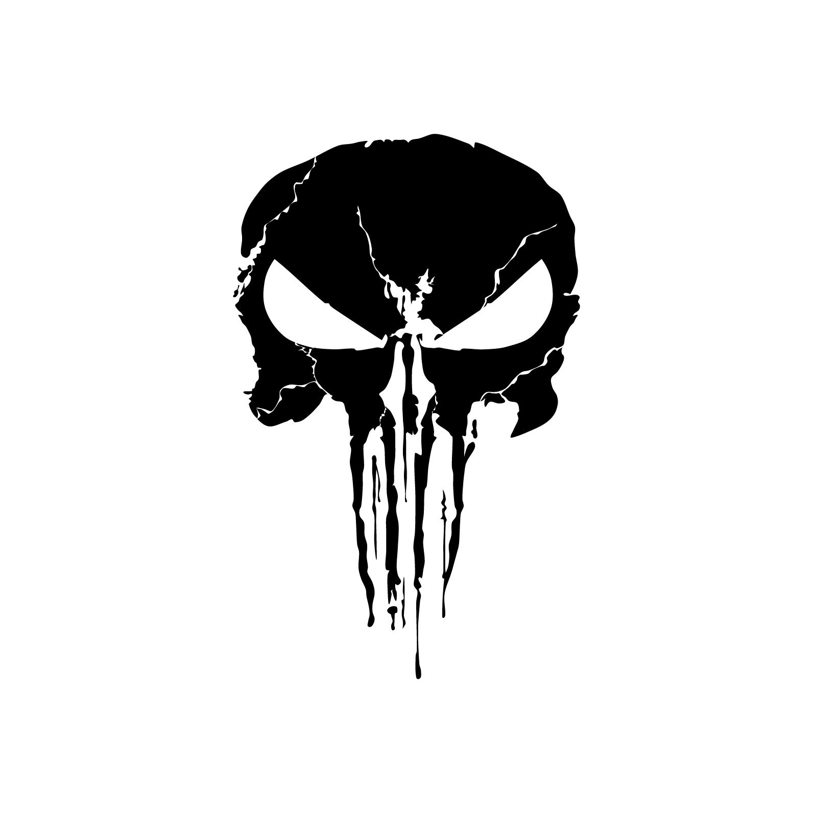 Punisher 03 superhero Graphics design SVG DXF by ...