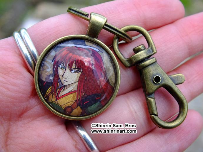 Ronin Yoshino Bronze Keychain