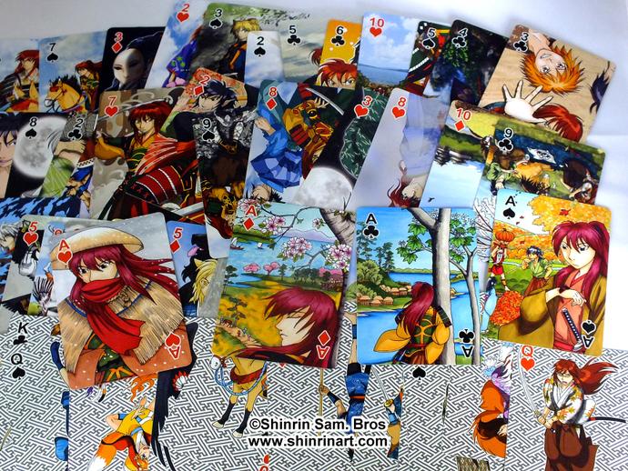 Ronin Yoshino Playing Card Deck