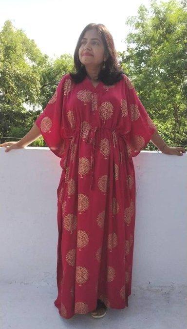 red kaftan black maternity dress christmas gifts cotton caftan hospital - Maternity Christmas Dress
