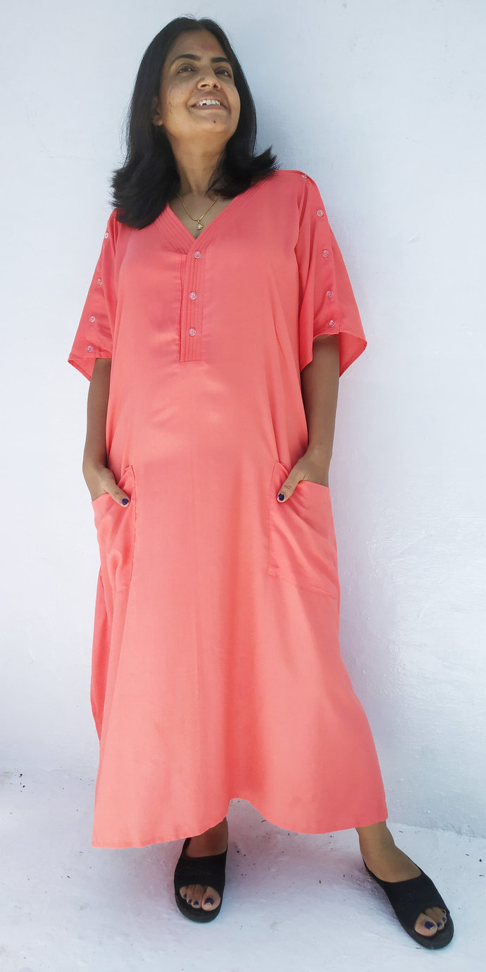 Maternity hospital gown, Hospital by women\'s kaftan clothing on