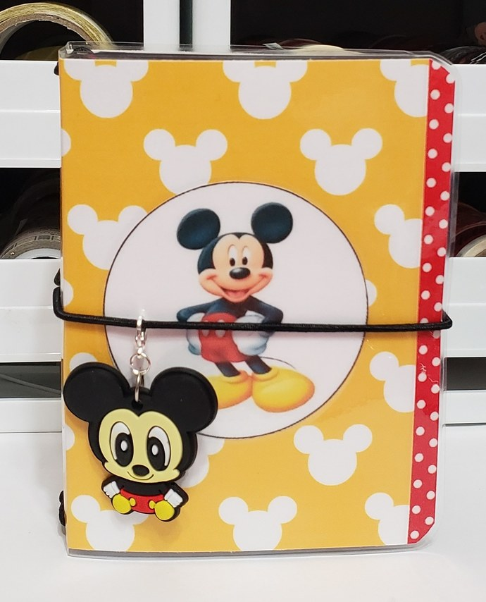 Minnie Mickey Mouse micro travelers notebook
