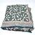 Hand Block Print Cotton Scarf Green - Cotton Scarf Shawl Wrap - Christmas Gift -