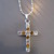 Diamante Cross Necklace