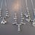 3 x Vintage Diamante Necklaces