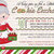 Cookie Swap, Cookie Exchange, Mrs Claus,  Winter, Christmas, Printable