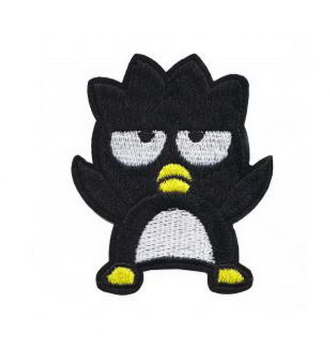 Bad Badtz Maru Patch Embroidered Iron on Patches Clothes Appliques Sew Crafts