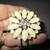 Lovely Large Flowered Bracelet