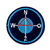 Compass Patch Diy Embroidered Iron on Patches Clothes Appliques Sew Crafts