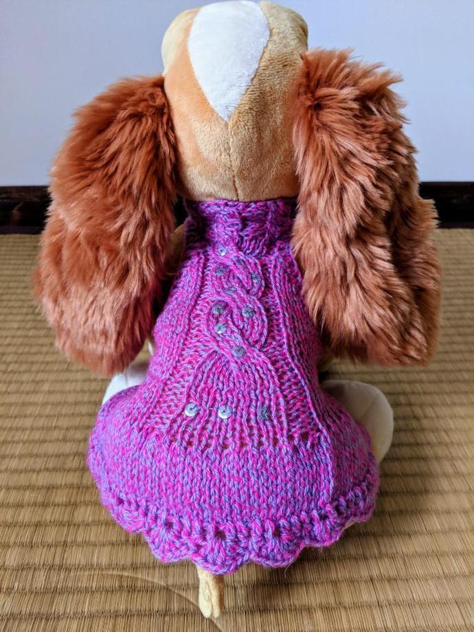 Hand made dog dress