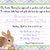 Easter Bunny, Garden, Tulips, Egg Hunt, Printable Invitation, DIY