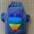 Rainbow Dog Sweater