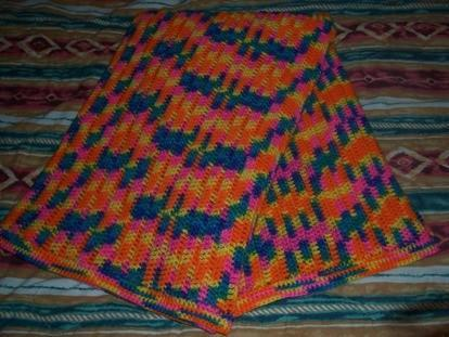 Wild Child Crochet Afghan