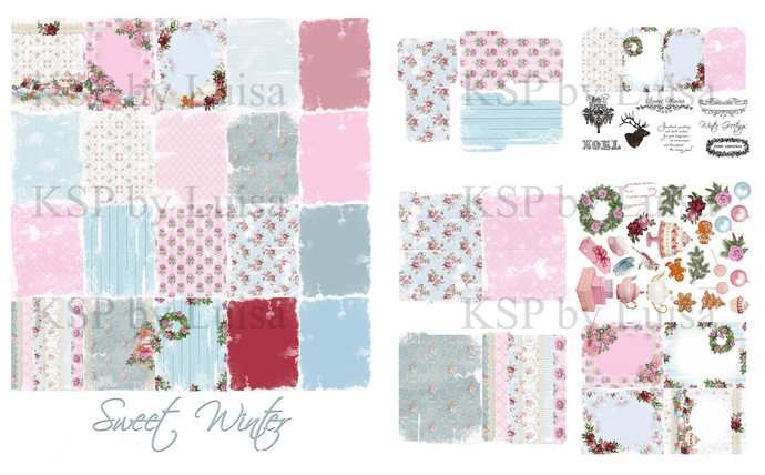 """Sweet Winter"" Printable Kit"