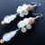 Translucent Shapes Series Dew Drops Vintage Bead Mod Earrings